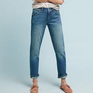ANTHROPOLOGIE Pilcro Slim Boyfriend Jeans Size 29